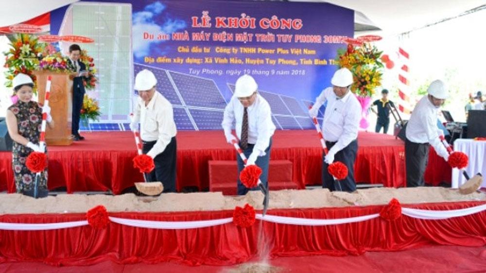 Khởi công xây dựng Nhà máy điện mặt trời Tuy Phong